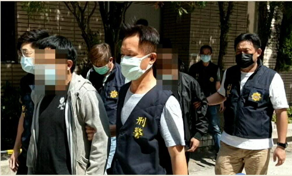 臺中市政府警察局專案行動逮捕暴力討債幫派分子