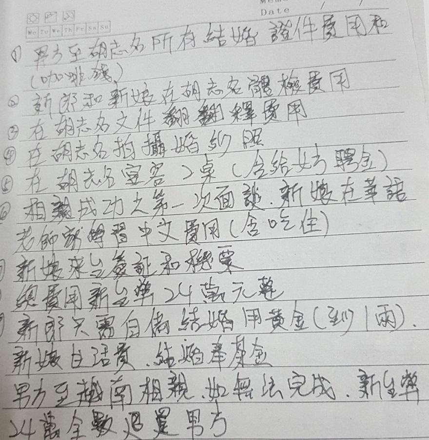 臺南市專勤隊查緝非法婚姻媒合業者4