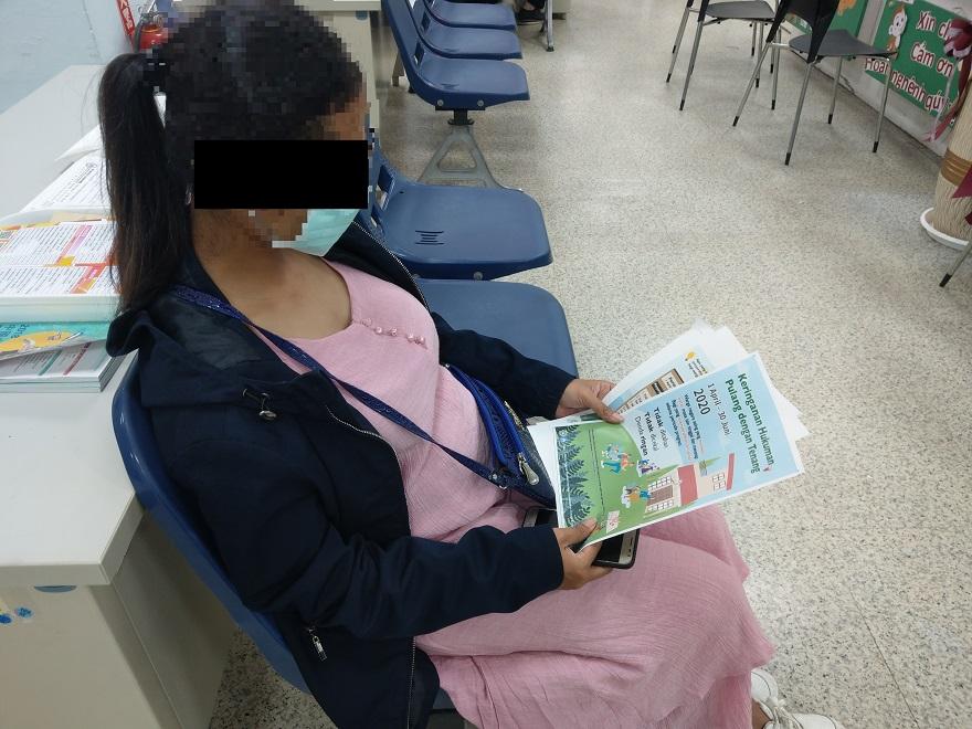 移民署臺南市第二服務站專案協助返家1