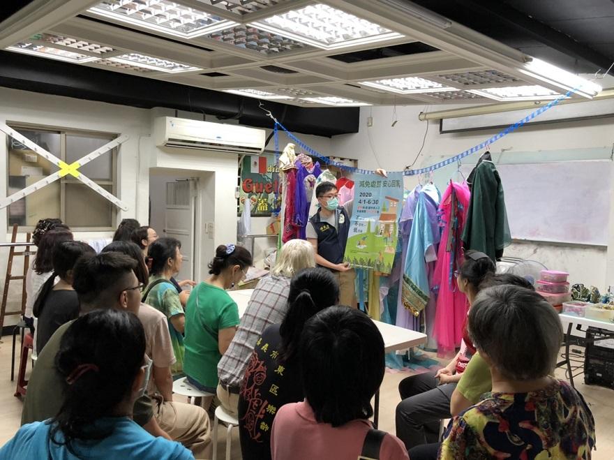 嘉義市服務站辦理新住民家庭教育1