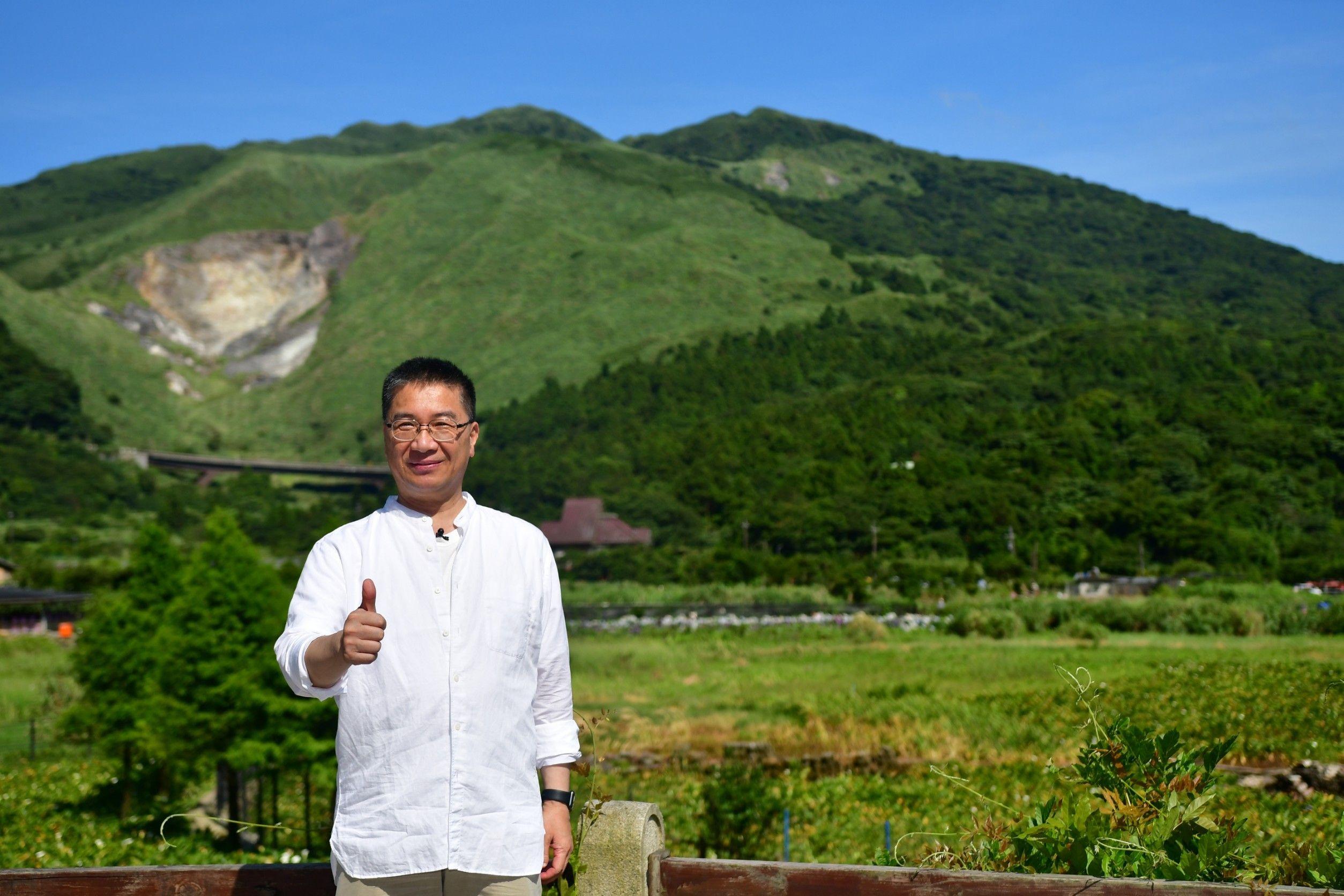 內政部長徐國勇今(17)日邀媒體朋友走訪陽明山國家公園