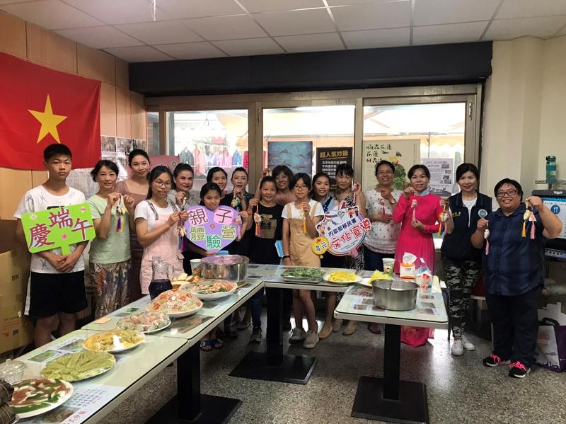 花蓮新住民親子體驗營慶端午