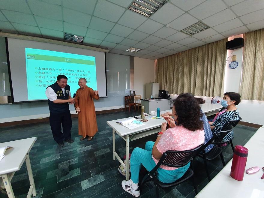 志工通譯訓練課程大家互動溫馨熱烈