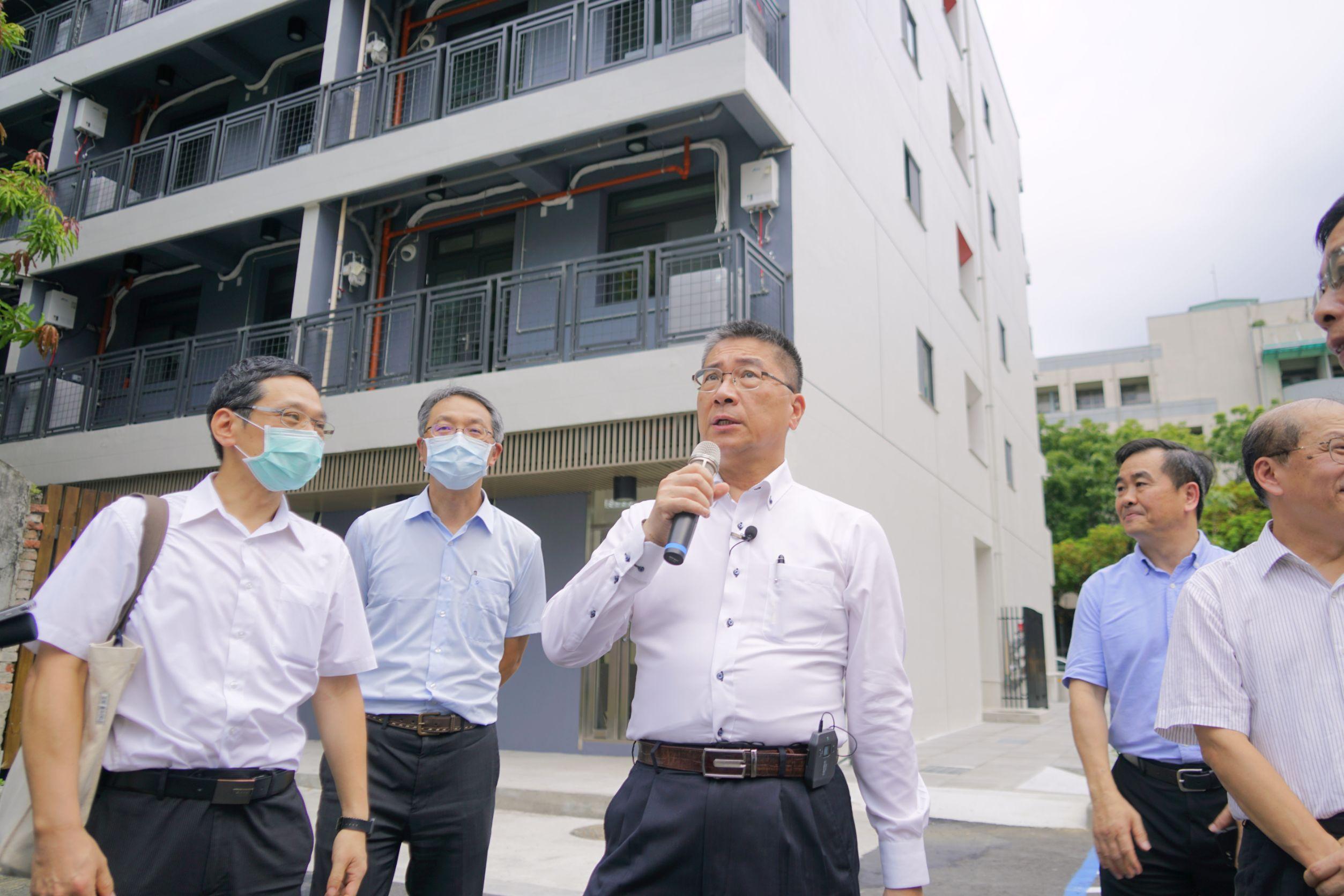 徐國勇表示,大同社宅生活機能佳,設計及管理完善,申租踴躍。