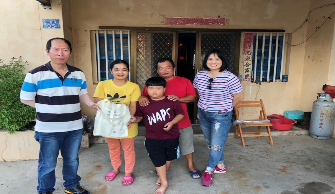 訪視柬埔寨籍姐妹身分證辦理情形