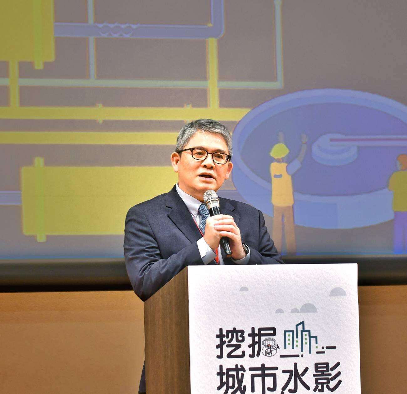 內政部次長花敬群表示,將持續與地方政府合作,加速污水下水道興建