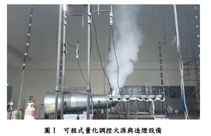 可程式量化調控火源與造煙設備