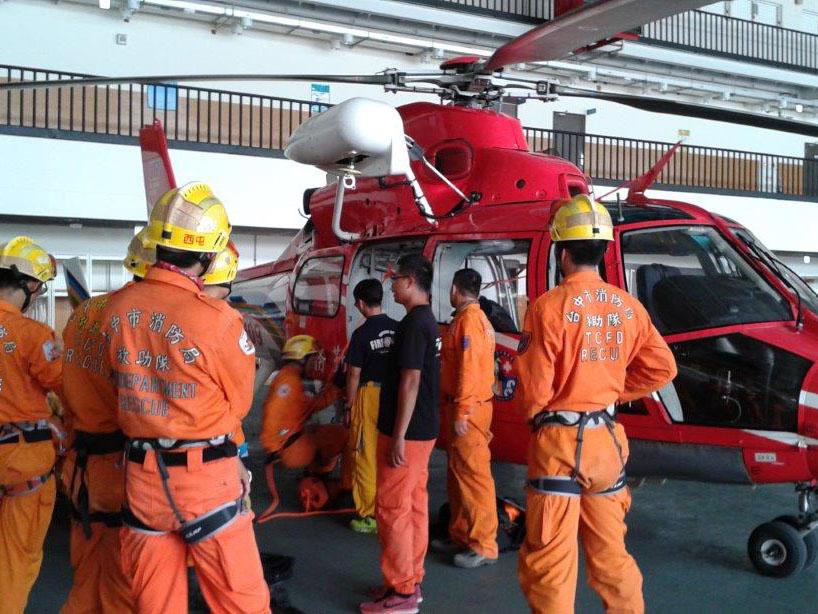 AS365救助隊訓練全景