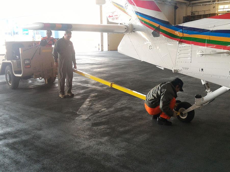 拖機訓練尾輪檢視