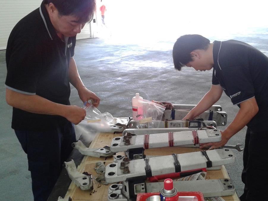 Main rotor examination
