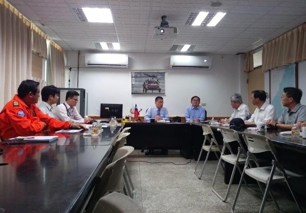 內政部長徐國勇關心新駐地興建工程辦理進度