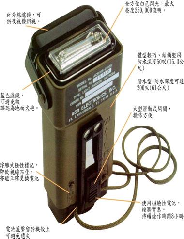 MS-2000 (M) TM 型求生燈