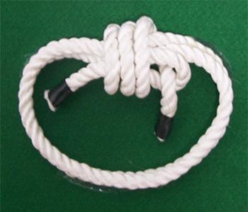 繩索收繩結法