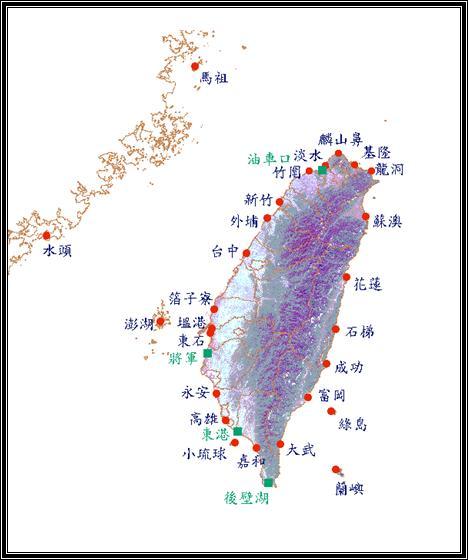 臺灣地區使用之潮位儀