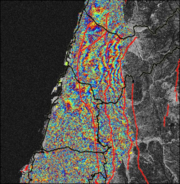 921大地震區域之變遷成果與斷層帶套疊