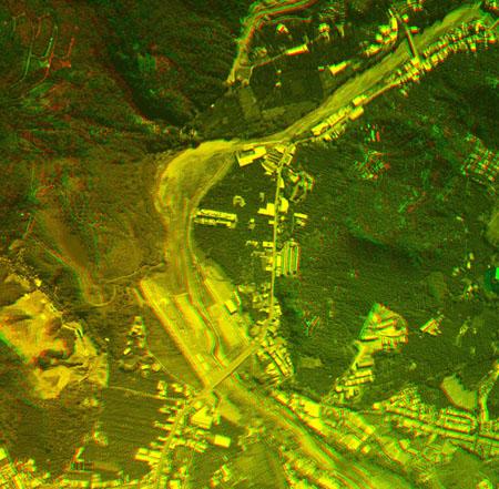 台中市太平區頭汴坑溪立體模型圖