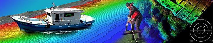 海域水深調查