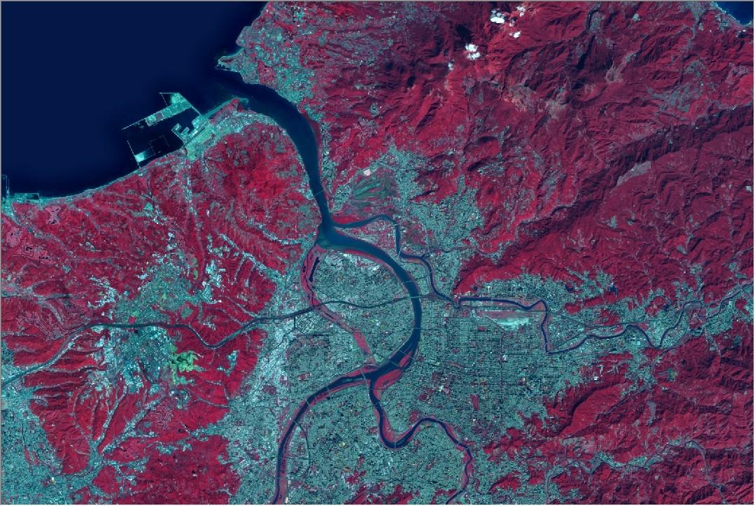 SPOT-6 衛星影像