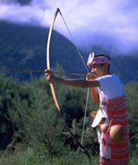 太魯閣族の男性は狩猟にたけていました。