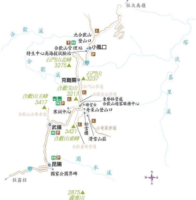 小奇萊步道路線圖(.jpg)