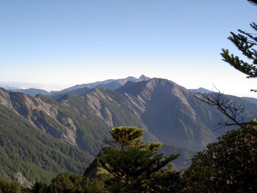 A view of  Mt. Yangtou