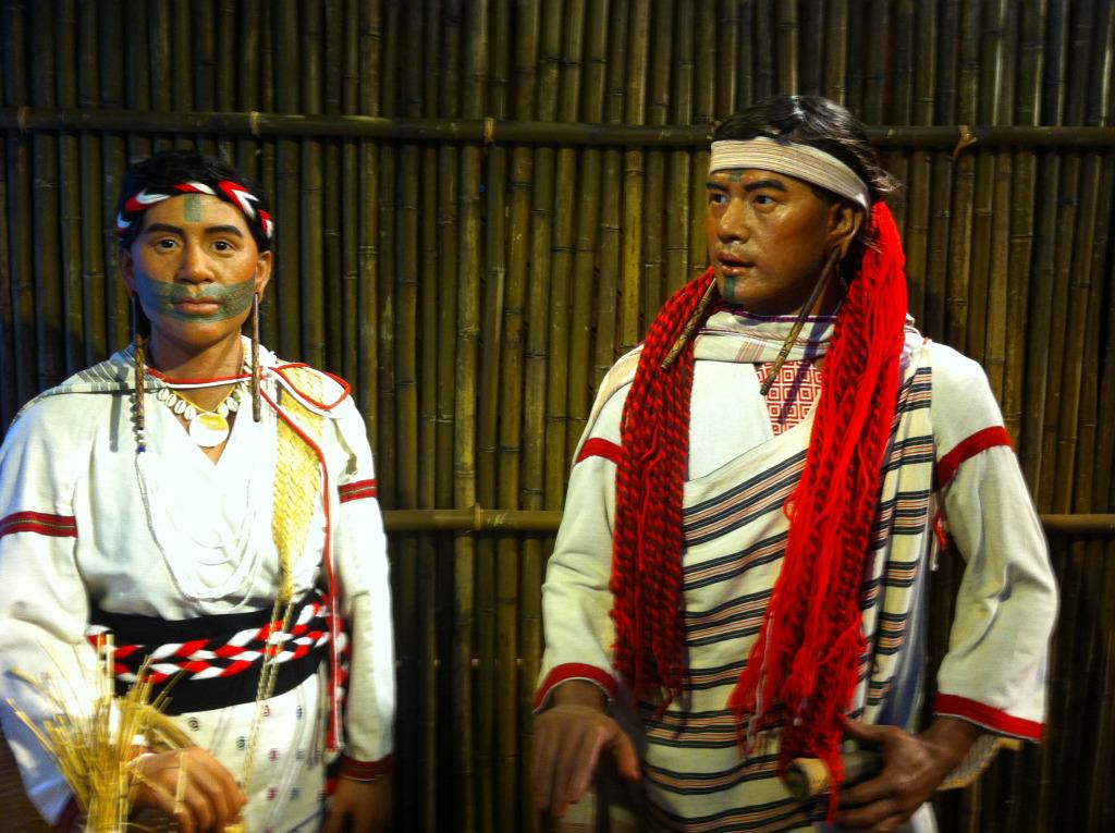 Exhibits of Taroko (Truku) Tribe Facial Tattos(.jpg)
