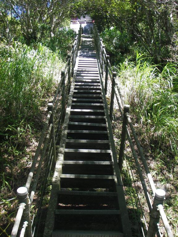Steep Steel Stairs on the way (.jpg)