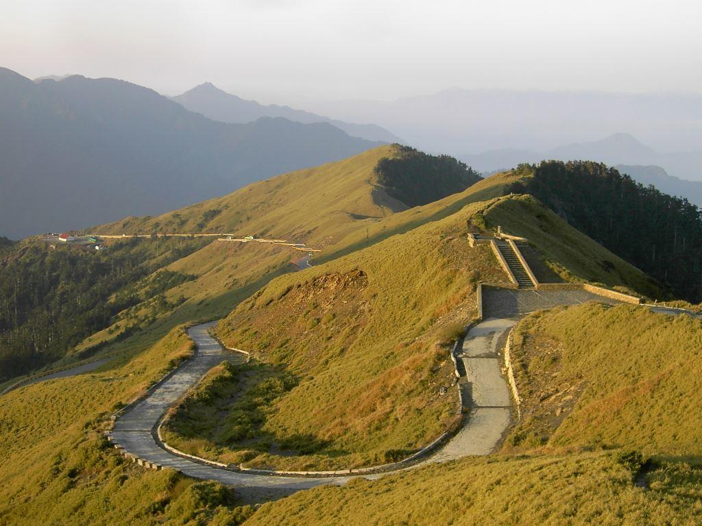 Beautiful view of Mt. Hehuan Main Peak Trail
