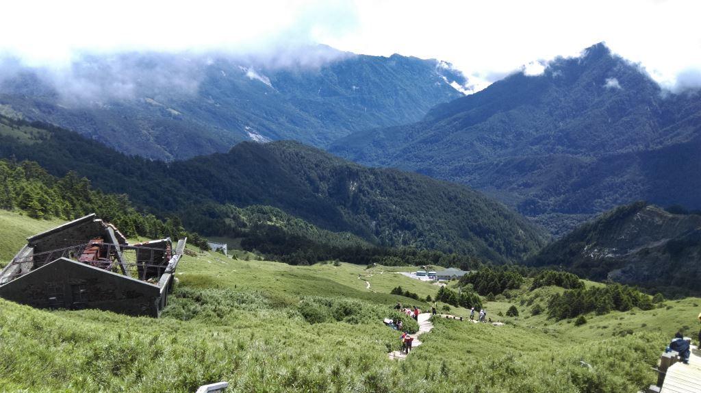 A view of H Mt. Hehuan East Peak