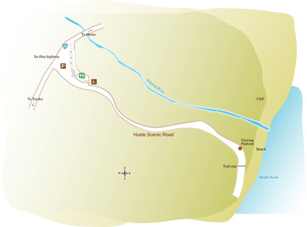 Huide Trail Map(.jpg)