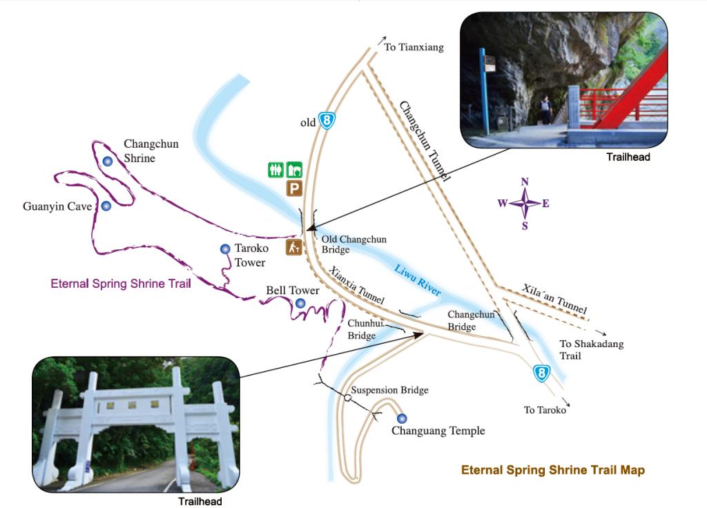 Changchun Shrine Trail Map(.png)