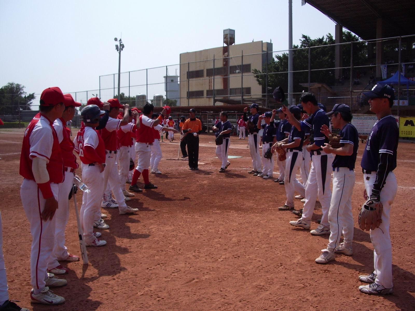 冠軍賽本局壘球隊與測量學會對壘
