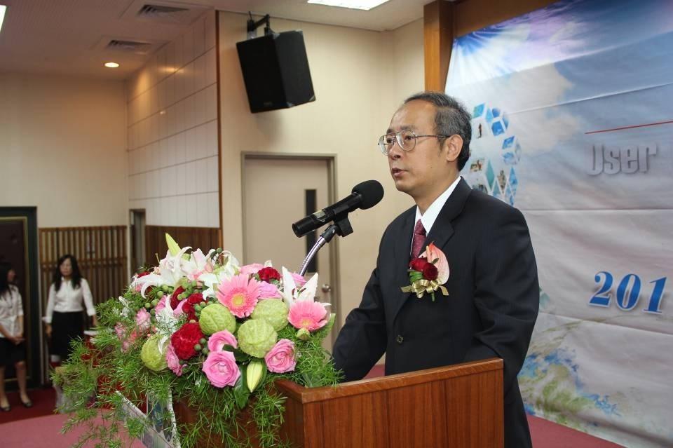 劉主任正倫致詞並歡迎與會人員蒞臨指導