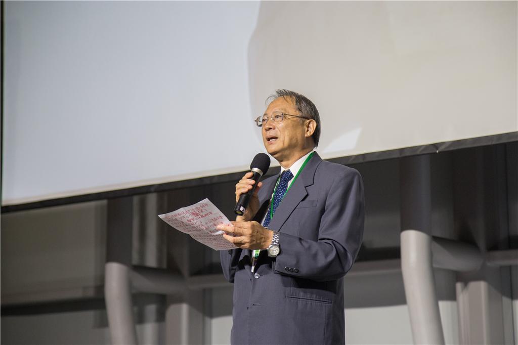 中華民國地籍測量學會理事長 黃榮峰開幕致詞
