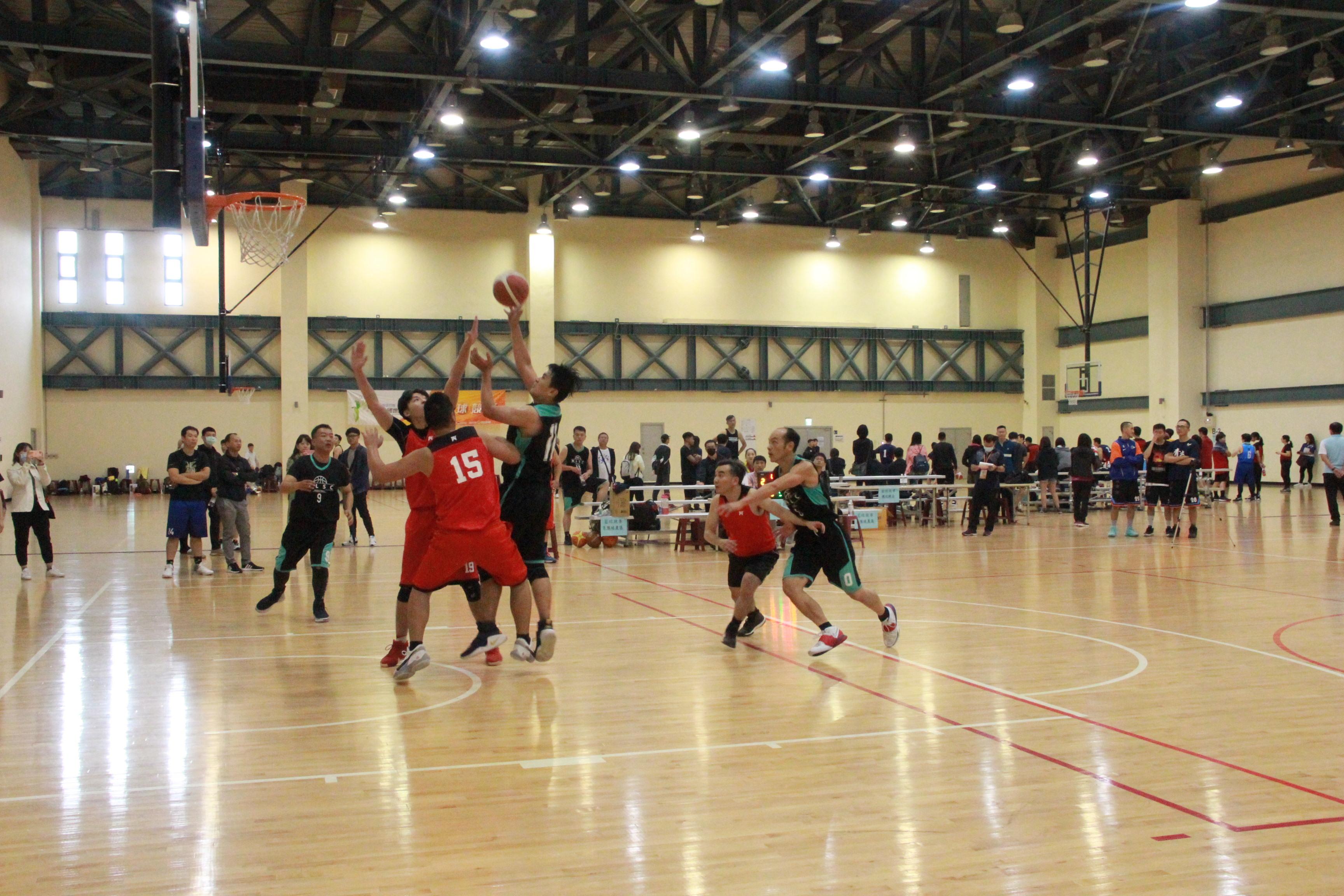 3對3籃球乙組冠軍賽比賽情形