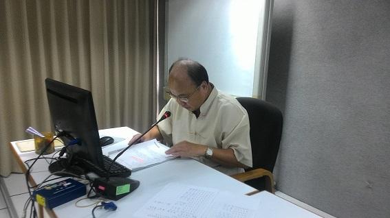 蘇召集人惠璋主持檔案鑑定小組第22次會議
