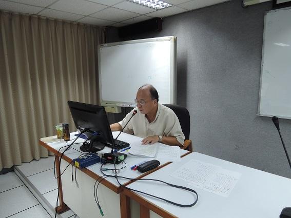 蘇召集人惠璋主持檔案鑑定小組第20次會議